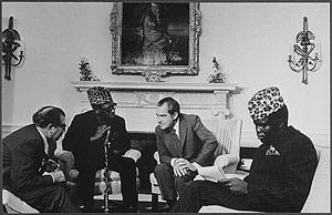 Mobutu and Nixon