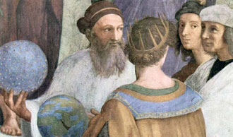 Zoroaster depicted by Raphael
